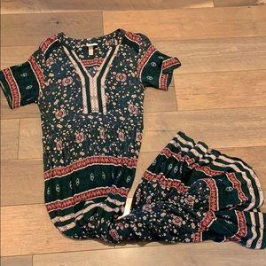 Floral Maxi dress medium
